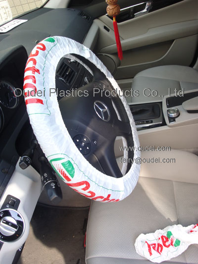 LDPE Steering Wheel Cover with LOGO