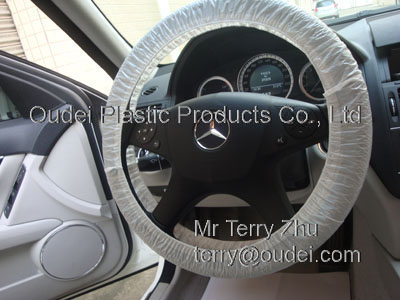 LDPE Steering Wheel Cover for car