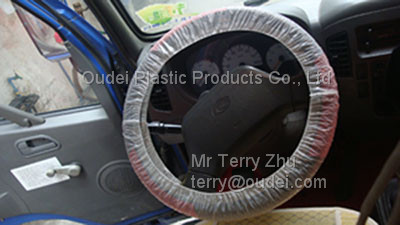 LDPE Steering Wheel Cover for truck