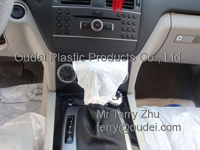 LDPE Gear Shift Cover for Car